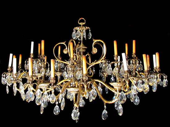 chandelier from corbett tower - Antique Light Fixtures