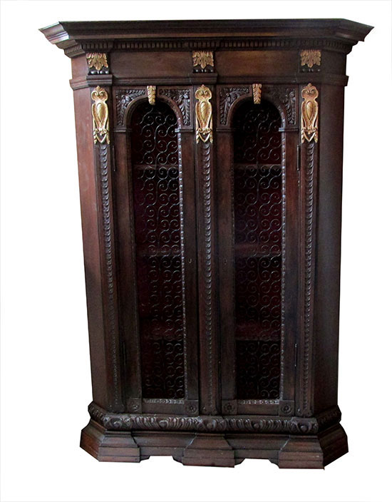 Corner Cabinet / Wine Cabinet - Antique Furniture - Wooden Nickel Antiques