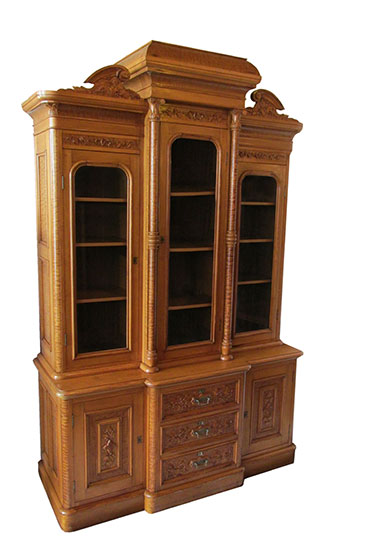 Carpathian Elm Bookcase