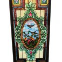 Large Stained Glass Window With Birds