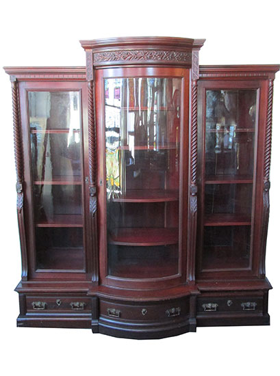 Cherry Bookcase $3,250 - Antique Furniture - Wooden Nickel Antiques