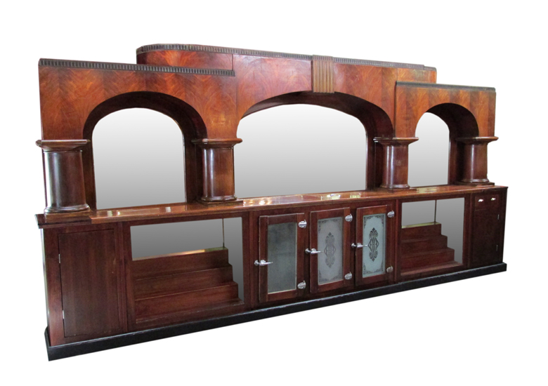 antique front back bars wooden nickel antiques. Black Bedroom Furniture Sets. Home Design Ideas