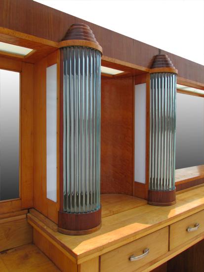 22′ Art Deco Back Bar