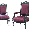 Ebonized Antique Victorian Set