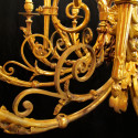 French Chandelier With 4 Foot Drop