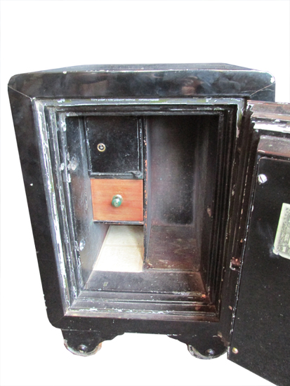 Small Painted Safe