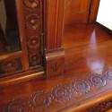 Cincinnati Art Carved Walnut Sideboard