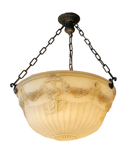 Cast Bowl Light