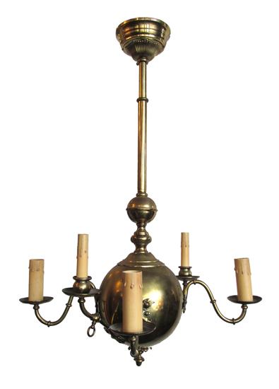Victorian 6 Arm Light