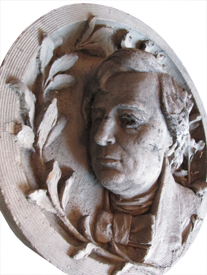 Carved Terra Cotta Bust