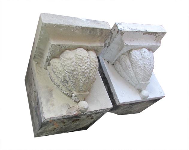 Pair Stone Corbels
