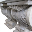Carved Marble Corbels
