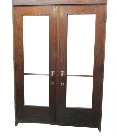 Arch Top Oak Entrance