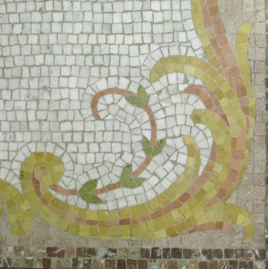 Mosaic Tile Hearth