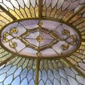 Oval Stained Glass Dome
