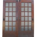 Pair Of Oak Entry Doors
