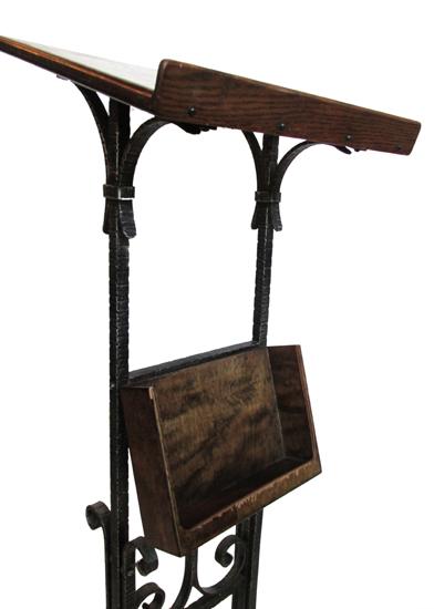 Wrought Iron Podium