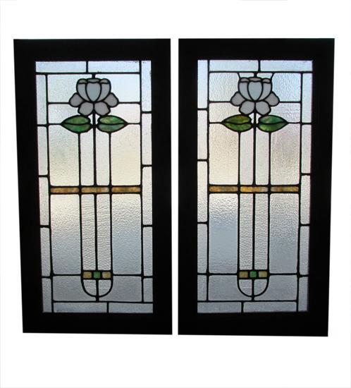 Pair Of Arts & Crafts Windows