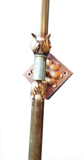 6 Large Iron Sconces Available