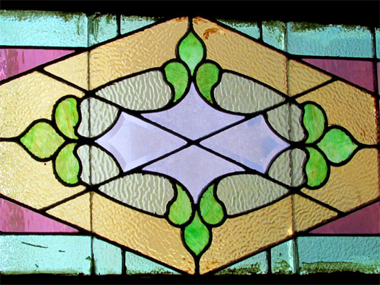 Stained And Beveled Window