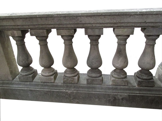 75′ Of Stone Railing
