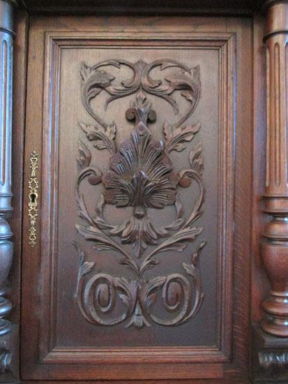 Henry Deux Court Cupboard
