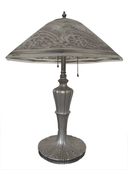 French Deco Table Lamp