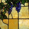 Large Window With Grape Design