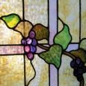 Small Window with Grape Design