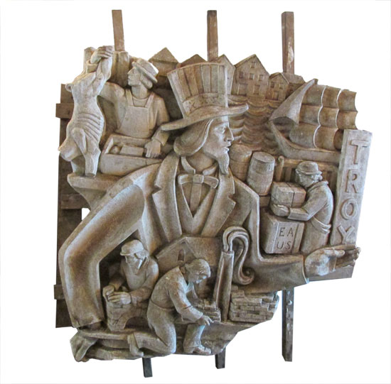 Uncle Sam Plaster Relief