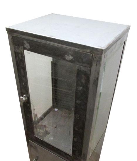 Metal & Glass Medical Cabinet
