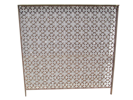 Fancy Cast Ironwork Grate