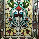 Bevelled & Stained Glass Window