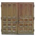 Pair Of Large Oak Doors
