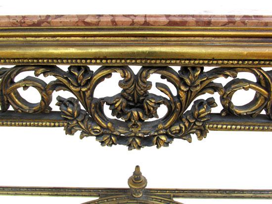 Louis XV Gold Gilt Console