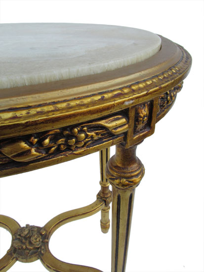 Gold Gilt Table