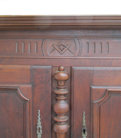 Early French Cupboard