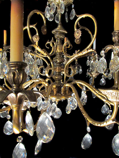 Chandelier From Corbett Tower