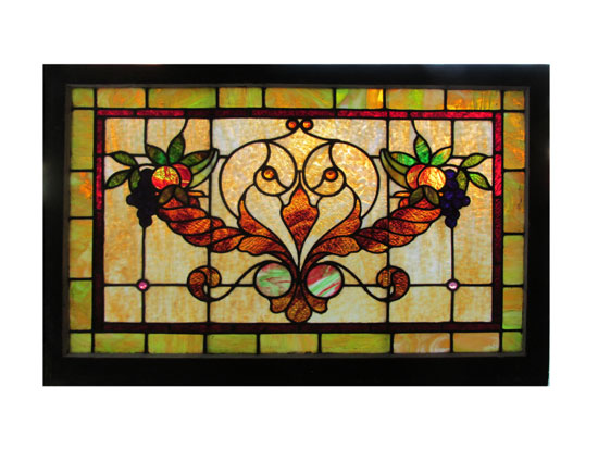 Window With Cornucopia Design