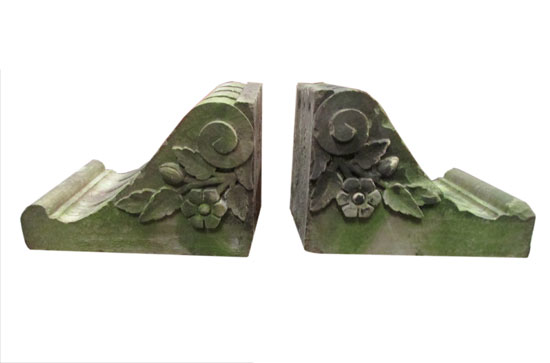 Pair Of Stone Corbels
