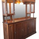 Oak Front & Back Bar