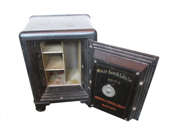 Small Mosler Safe - Wooden Nickel Antiques