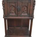 English Style Oak Cabinet