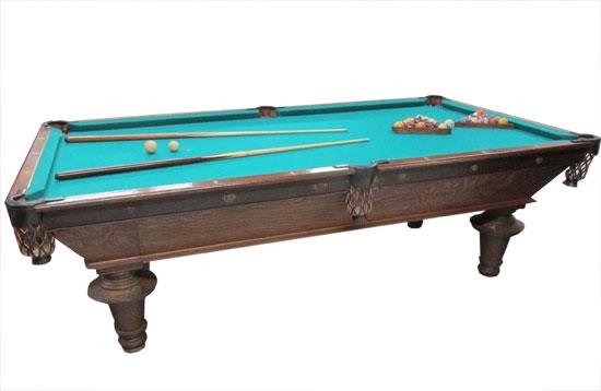 Oak Pool Table