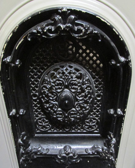 Cast Iron Mantel