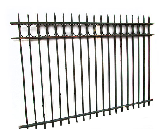 Cast Iron Spear Fencing