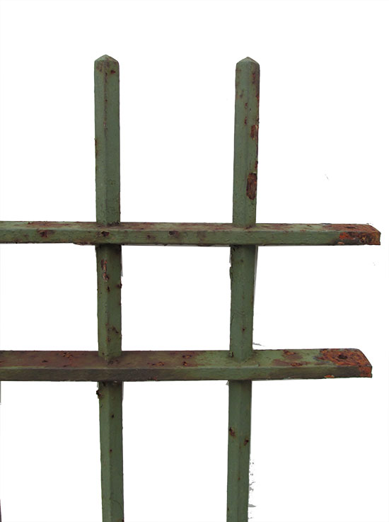 Six Piece Of Iron Fencing