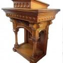 Carved Oak Pulpit