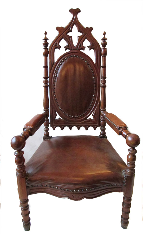 Pair of Gothic Chairs