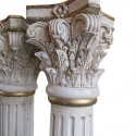 Pair of White Columns